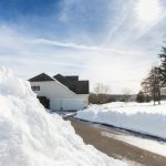 Image of a Plowed Driveway
