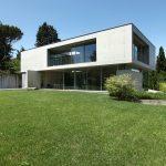 Concrete house building design