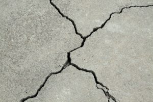 Cracked Concrete Driveway in MN